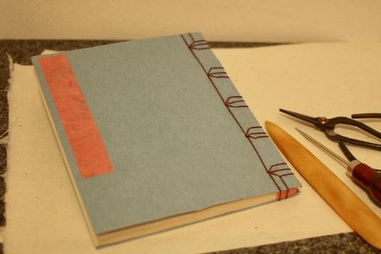 Bookbinding With Mariko Japanese Stab Binding With