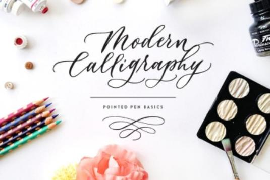 Modern calligraphy pointed pen basics calligraphy classes in