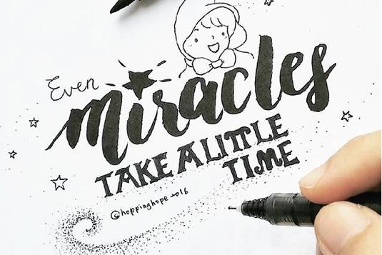 Brush calligraphy and doodle calligraphy classes in singapore