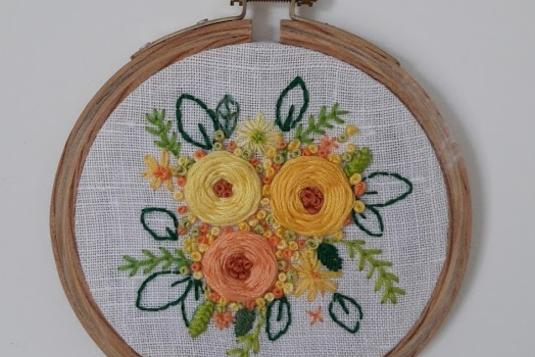 Basic embroidery class craft classes in singapore