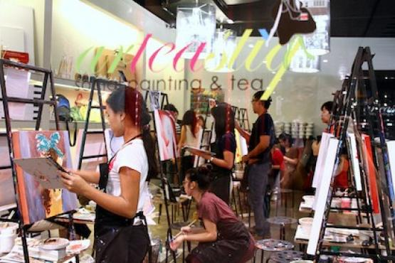 Art Jam Workshop Painting Classes In Singapore