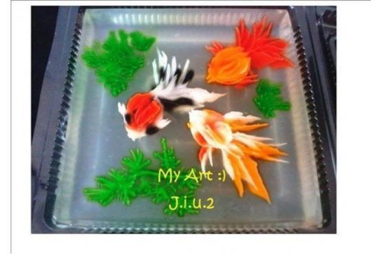 Decorative Jelly Art Advanced Cake Decorating Classes