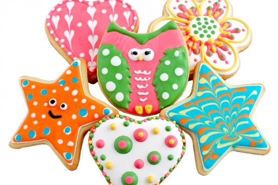Children Cookie Decorating Workshop Cake Decorating