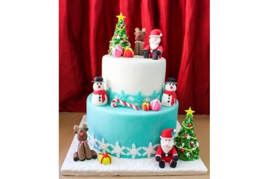 Christmas Cake Decorating Ideas Without Fondant: Latest ...