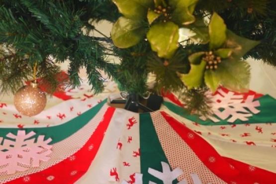Snowflake Tree Skirt Sewing Workshop Adult Child Adult Sewing
