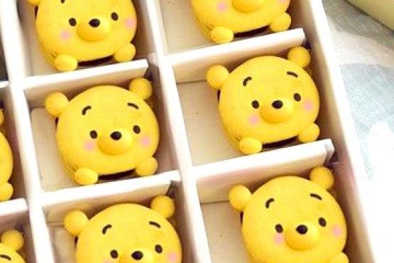 Pooh Tsum Tsum Macaron Workshop Macaron Classes In