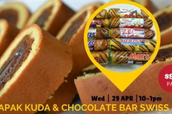 Tapak Kuda Chocolate Bar Swiss Roll Workshop Cake Baking Classes
