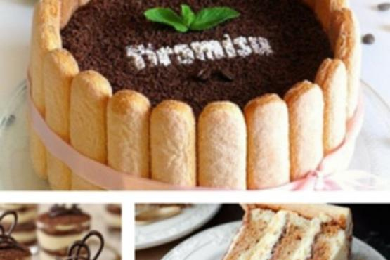 Italian Tiramisu Cake Baking & Decoration in a Basket - Cake Baking on