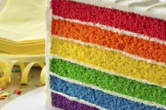 6 Layer Rainbow Cake Cake Baking Classes In Singapore