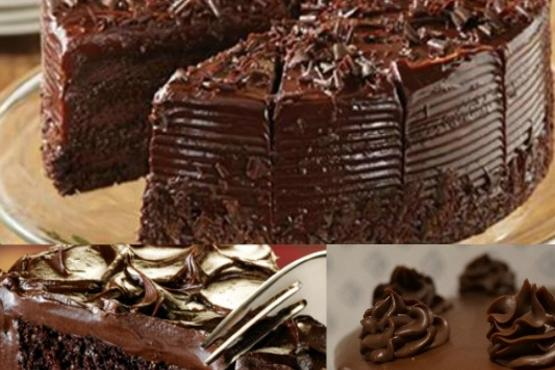 Double Fudge Fanciful Cake