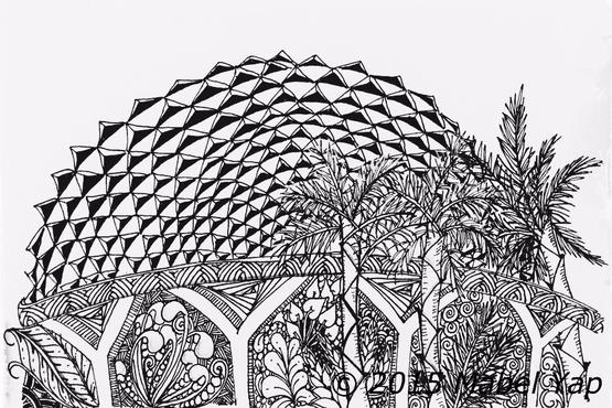 CityScapes with Zentangle