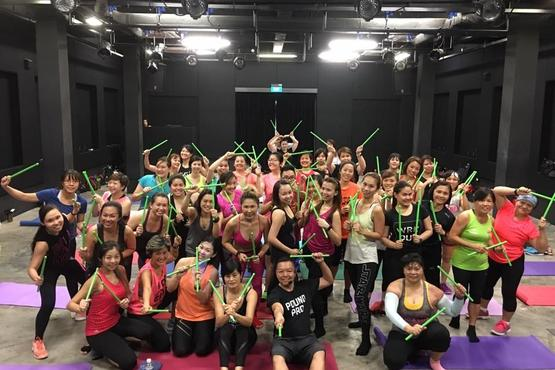 POUND® ROCKOUT WORKOUT - Group Fitness Classes in Singapore ...