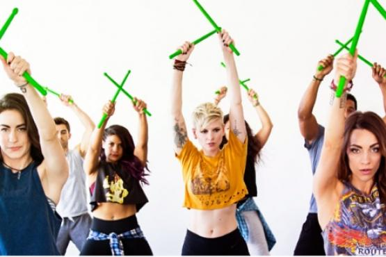 POUND Rockout Workout - Dance-Fitness Classes in Singapore ...