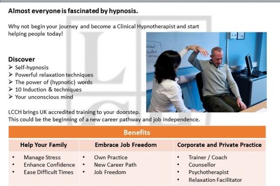 Certificate in Clinical Hypnosis
