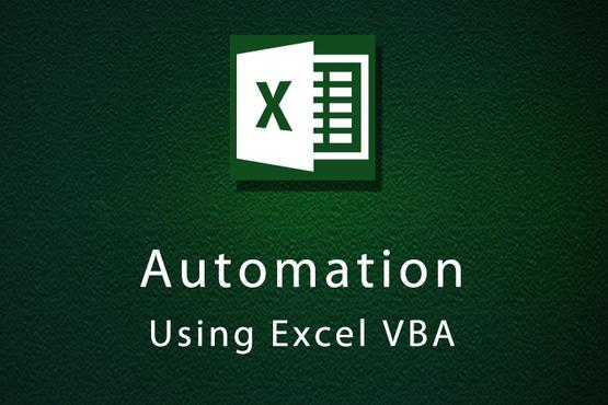 Automation Using Excel VBA