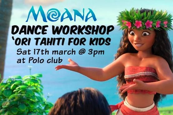 MOANA dance workshop - Ori Tahiti with kids