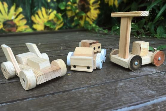 Family Wooden Toy Car Making Workshop